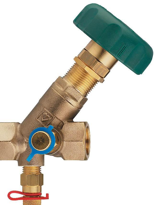 HERZ-STRŐMAX-4117 – podpionowy zawór regulacyjny do wody pitnej