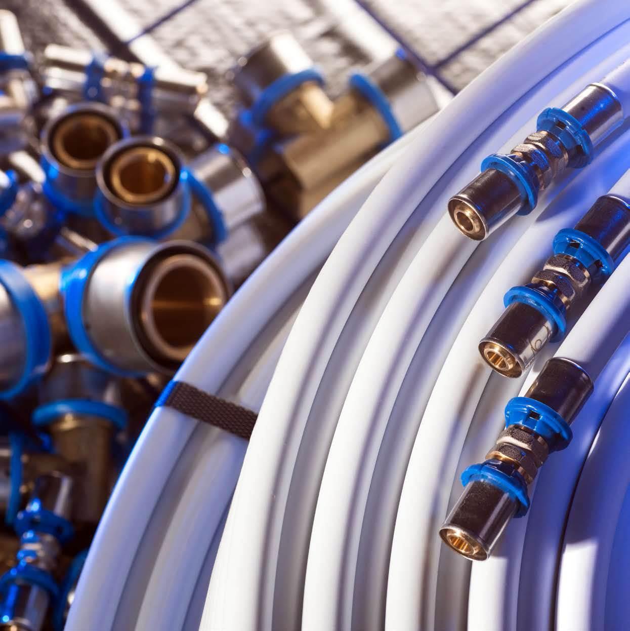 Systemy rur wielowarstwowych PE-X, PE-RT oraz PP-RCT do ogrzewania