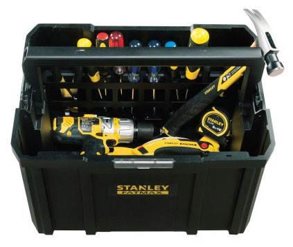 3 skrzynie narzędziowe – 3 razy więcej możliwości - STANLEY FATMAX® TSTAK