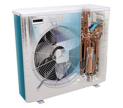 Fot. 5. Dobór pompy cieplnej o mniejszej mocy grzewczej, pracującej z zakresie wyższych temperatur powietrza zewnętrznego, oznacza obniżenie kosztów inwestycyjnych i eksploatacyjnych. Fot. Daikin