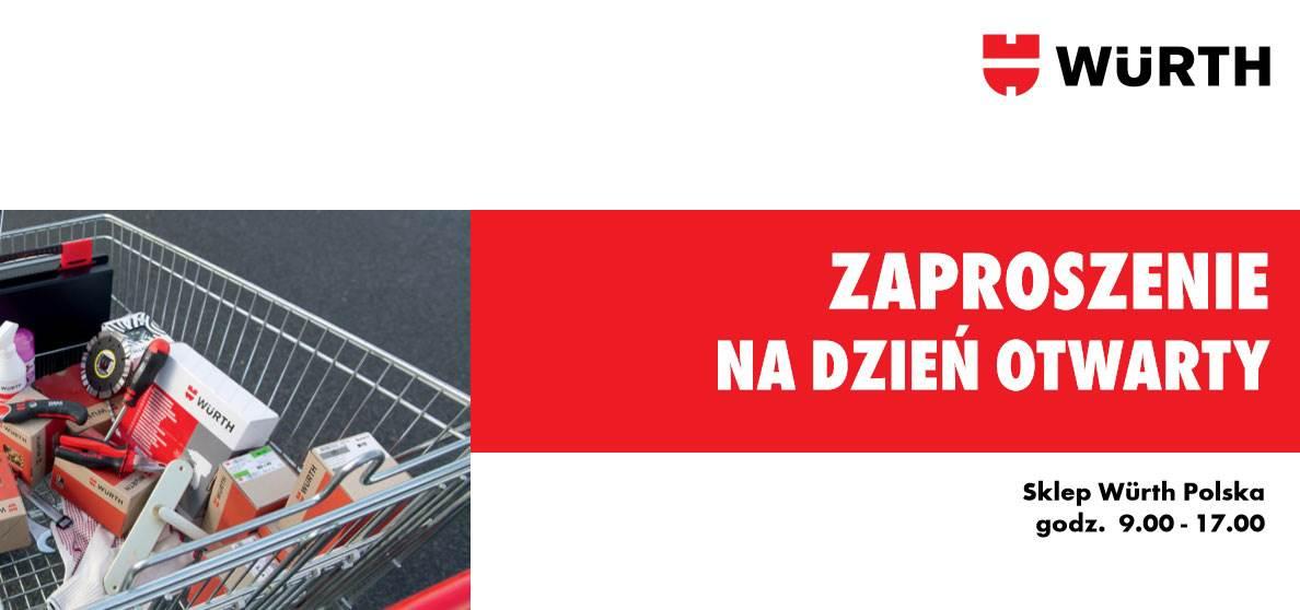 Würth Polska otwiera drzwi swoich sklepów