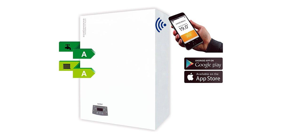 Ecocondens Integra II Plus – nowy kocioł kondensacyjny z wbudowanym zasobnikiem marki Termet