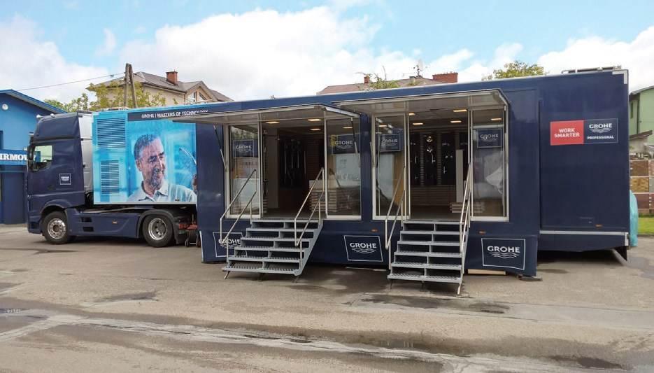 Wielkie otwarcie centrum szkoleniowego Gree w KrakowieGROHE Truck Tour wyrusza w trasę po Polsce
