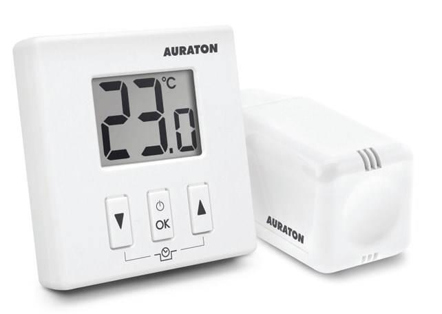 Sterownik Auraton z najmniejsząistniejącą głowicą.