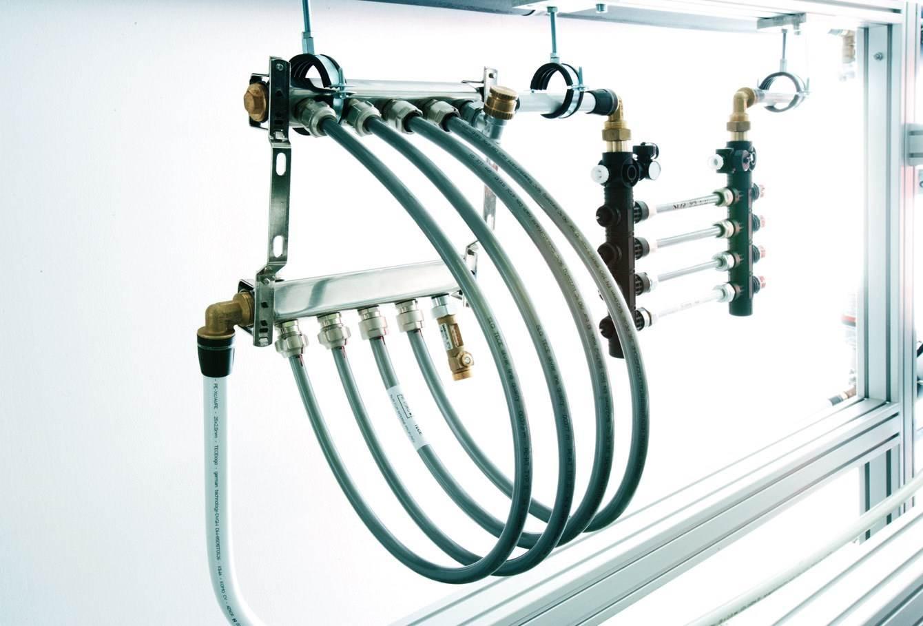 Fot. 5. Spektrum zastosowań rur warstwowych jest szerokie. Doskonale sprawdzają sięmiędzy innymi w instalacjach ogrzewania płaszczyznowego.
