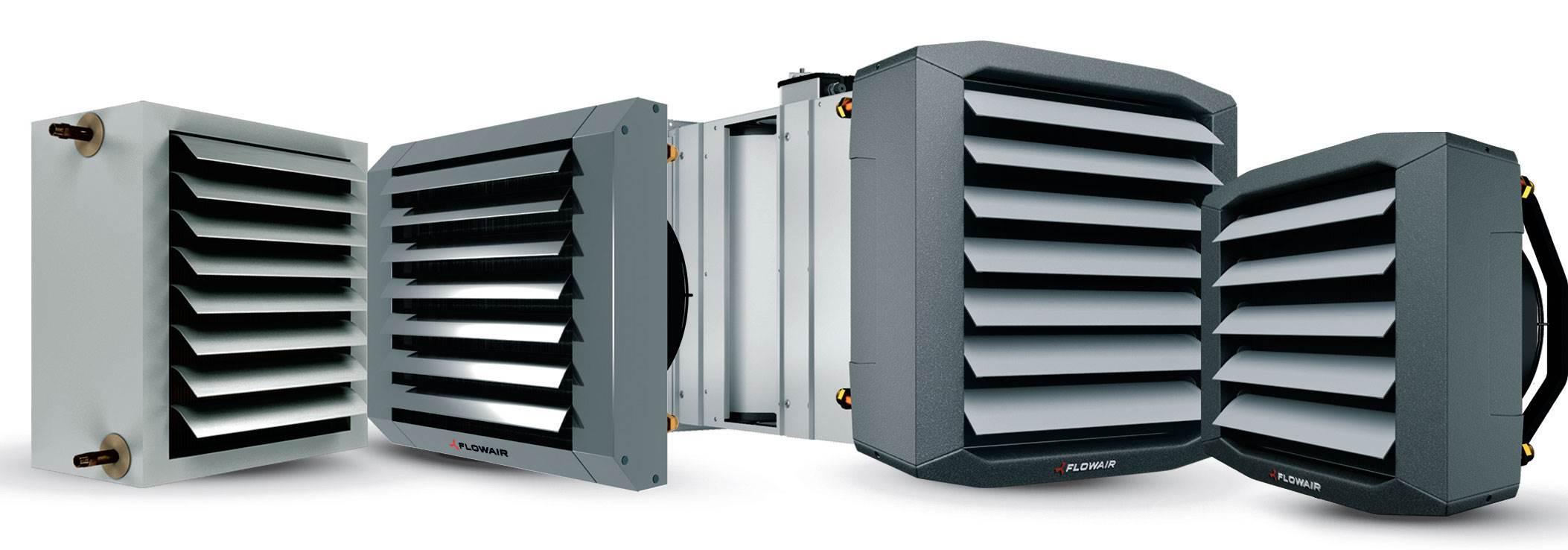 Fot. 2. Nagrzewnice wodne LEO mogą współpracować z dowolnymi źródłami ciepła, jedynym ograniczeniem jest maks. temperatura czynnika grzewczego, która w zależności od modelu urządzenia może sięgać nawet 130 st. C. Fot. Flowair