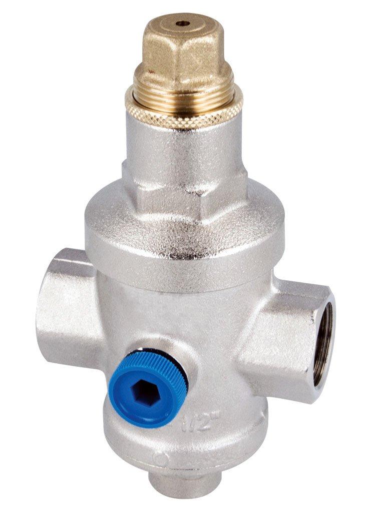 Fot. 3. Reduktory ciśnienia najczęściej montuje się za wodomierzem i fi ltrem wody na głównym przewodzie zasilającym. Fot. AFRISO