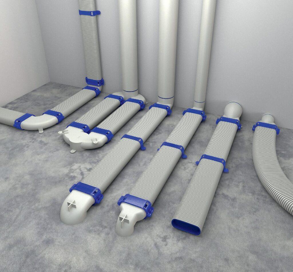 easyflex gwarancja przeplywu powietrza dzwiekoszczelnosci i szczelnosci1 1024x952 - Easyflex - gwarancja przepływu powietrza, dźwiękoszczelności i szczelności
