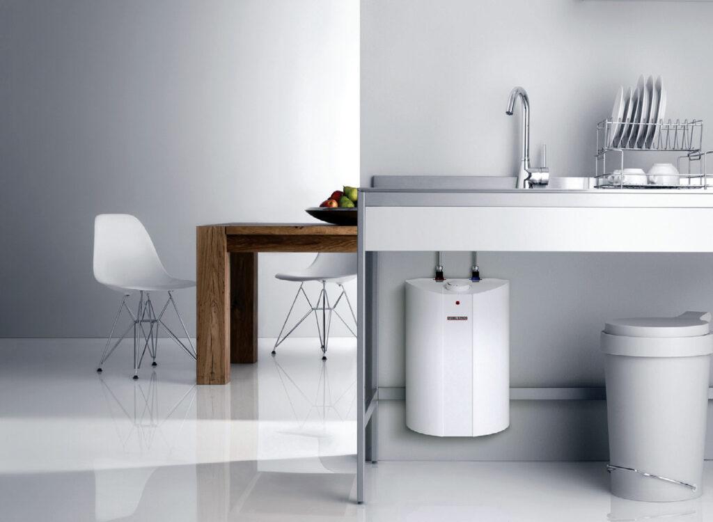 Fot. 7. Czysta biel i minimalizm spodoba się fanom nowoczesnego designu. Fot. STIEBEL ELTRON