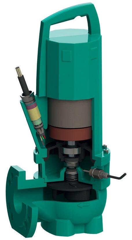 Fot. 3. Zatapialna pompa Wilo-Rexa PRO dostępna z silnikami energooszczędnymi IE3. Fot. Wilo