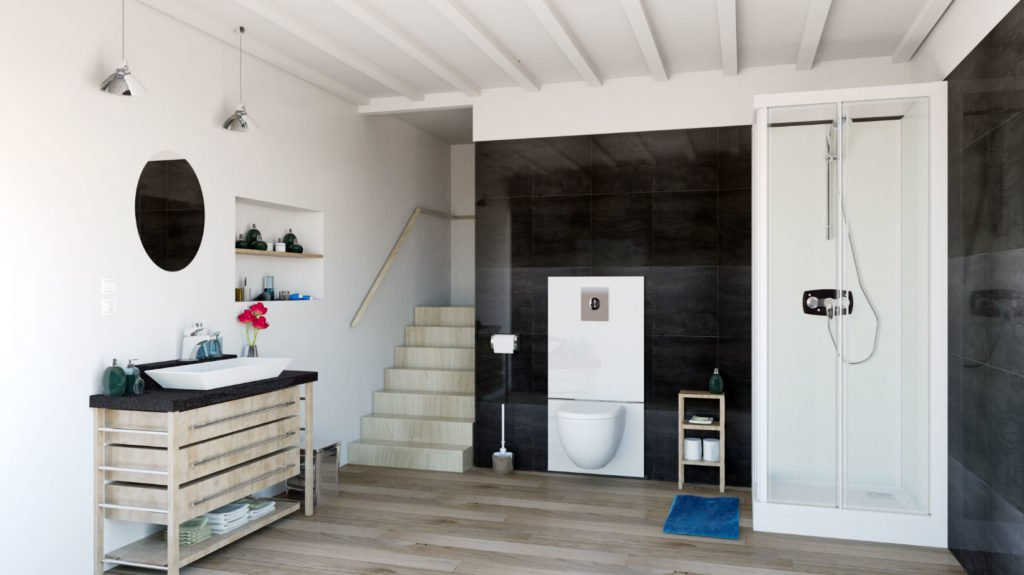 Saniwall Pro UP - remont pomieszczeń sanitarnych