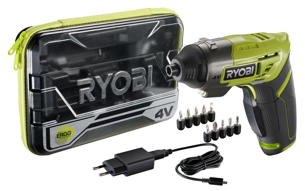 wkretak akumulatorowy ergo a2 4v od ryobi - Wkrętak akumulatorowy Ryobi® ERGO-A2 4V - narzędzie, które musisz mieć w swoim domu