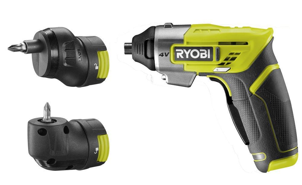 wkretak akumulatorowy ergo a2 4v od ryobi1 - Wkrętak akumulatorowy Ryobi® ERGO-A2 4V - narzędzie, które musisz mieć w swoim domu