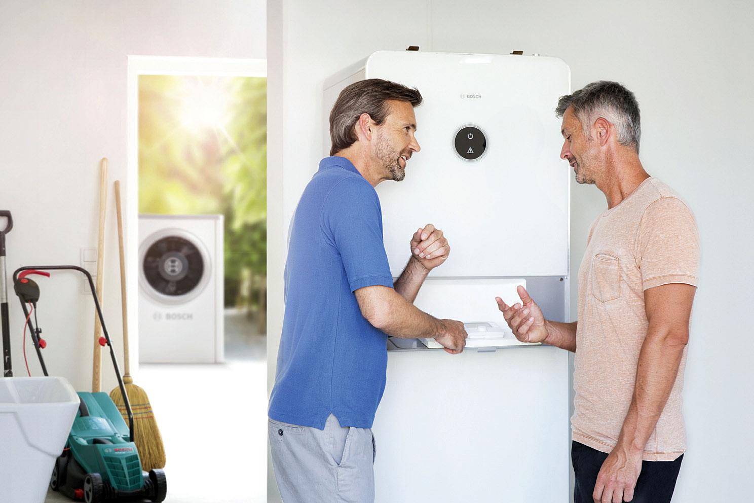 Pompy ciepła typu powietrze-woda – komfort i realne oszczędności dla portfela i środowiska. Fot. BOSCH