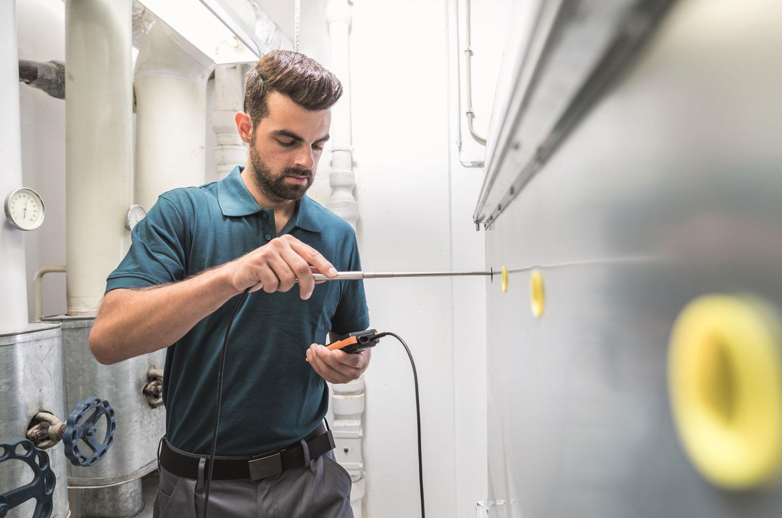 Nowy miernik wielofunkcyjny testo 440 - pomiar prędkości przepływu powietrza oraz jego jakości w pomieszczeniach