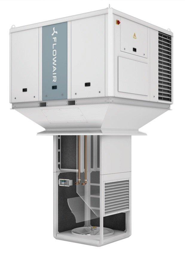 Fot. 3. Zastosowanie sprężarki inwerterowej, sprężarek w układzie Tandem lub układów wieloobwodowych umożliwia dostosowanie mocy chłodniczej do aktualnego zapotrzebowania. Fot. FLOWAIR
