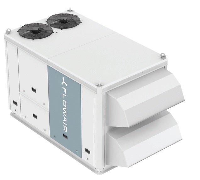Fot. 4. W jednej obudowie Cube 20 zawarto agregat chłodniczy, wymiennik obrotowy, nagrzewnicę i układ automatyki Siemens Climatix. Fot. FLOWAIR