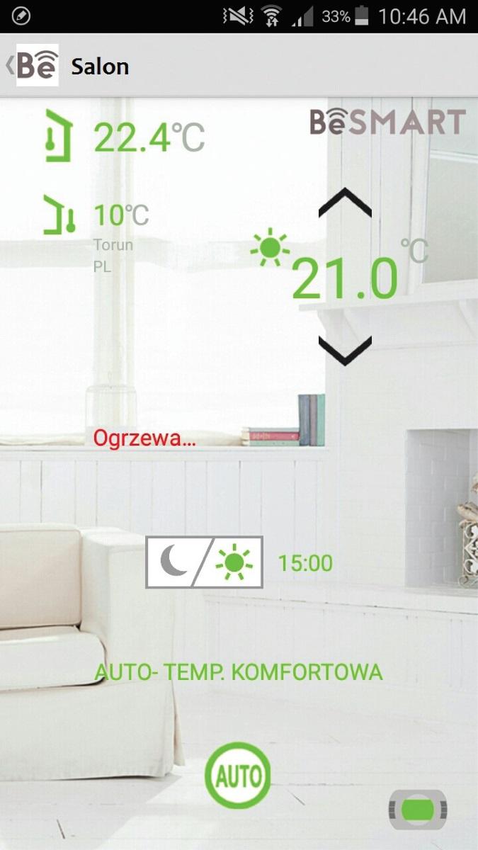 Fot. 2. Aplikacja mobilna BeSmart.