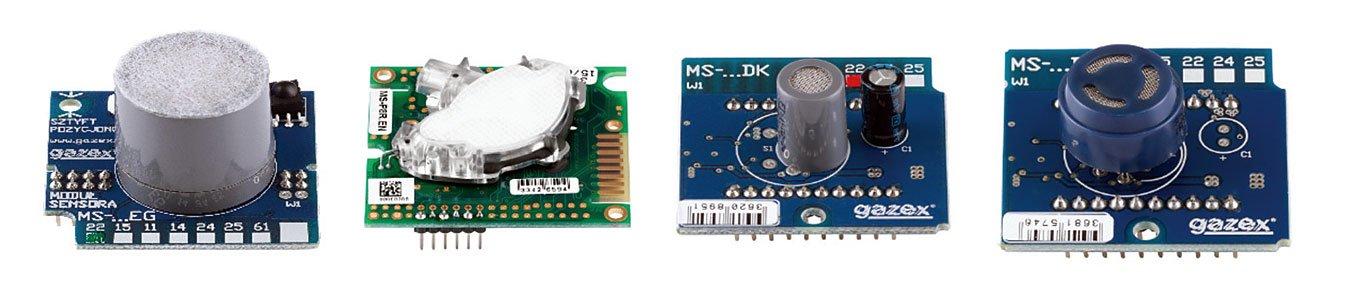 Rys. 1. Wymienne moduły sensorów.