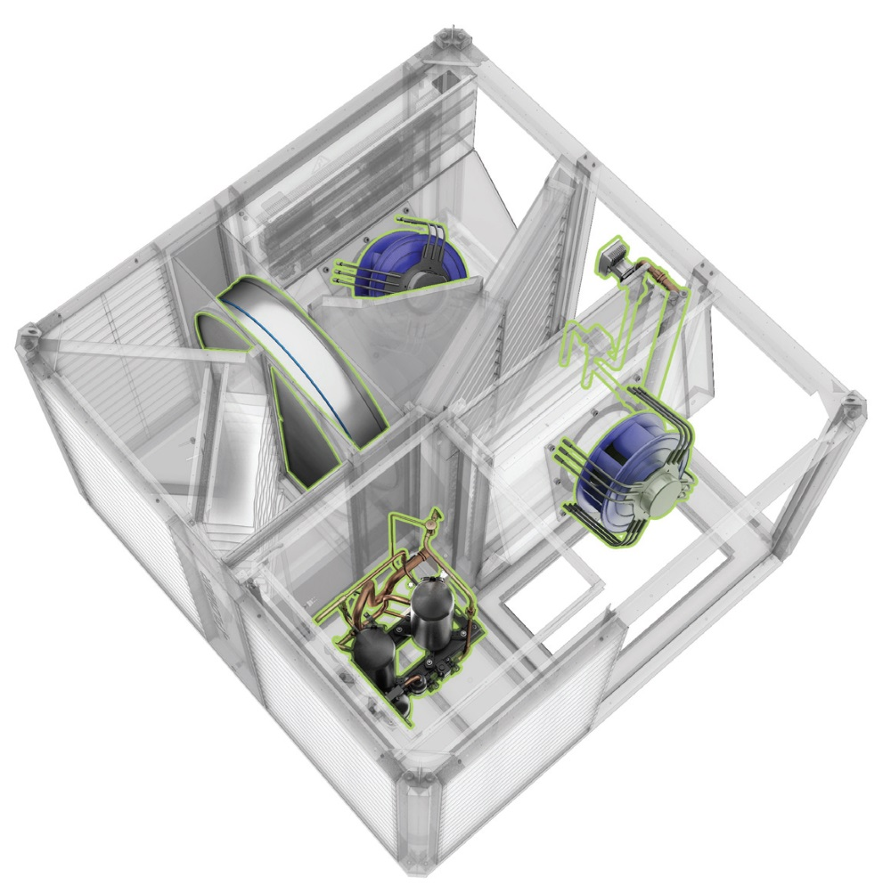 Fot. 3. Przekrój urządzeń Cube 40.