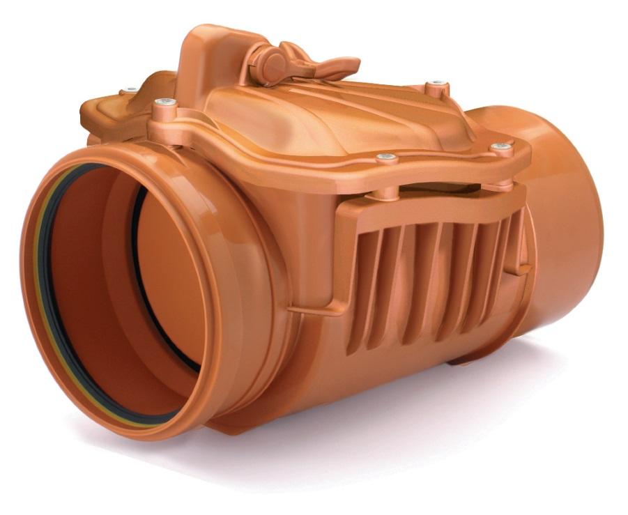 Fot. 4. Urządzenia przeciwzalewowe typu 1 wyposażone są w mechanizm zapewniający automatyczne zamknięcie. Fot. KARMAT
