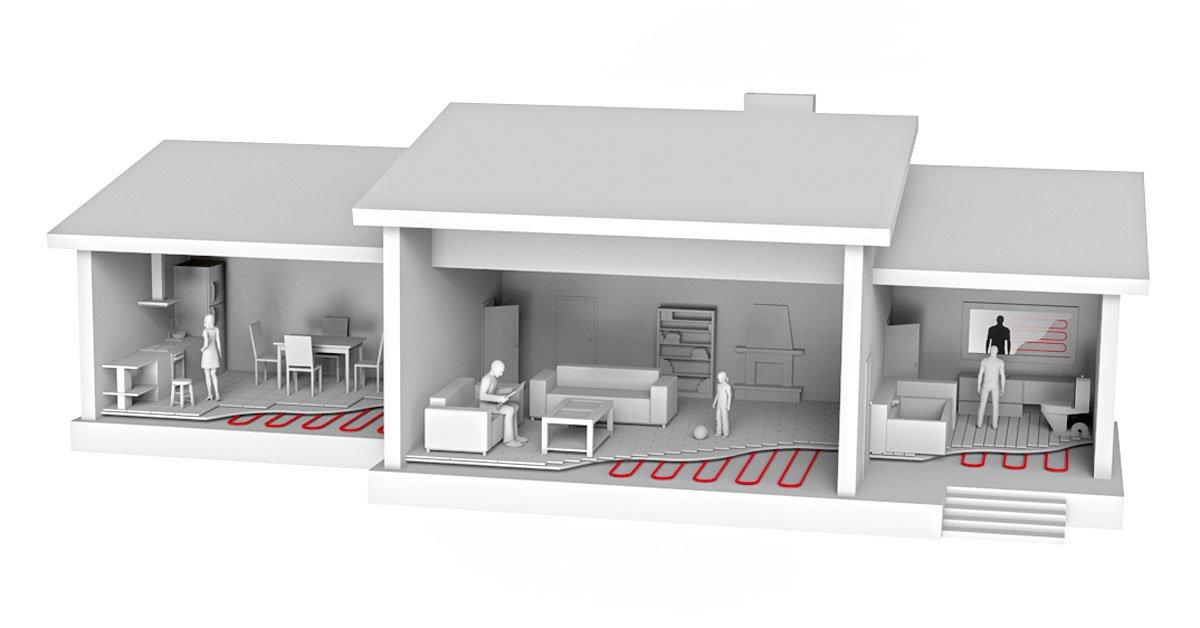 Elektryczne maty grzejne Comfort Heat można zastosować w każdym pomieszczeniu i pod każdym rodzajem podłogi. Doskonale sprawdzą się również jako ogrzewanie ścienne - elektryczne systemy grzewcze Comfort Heat