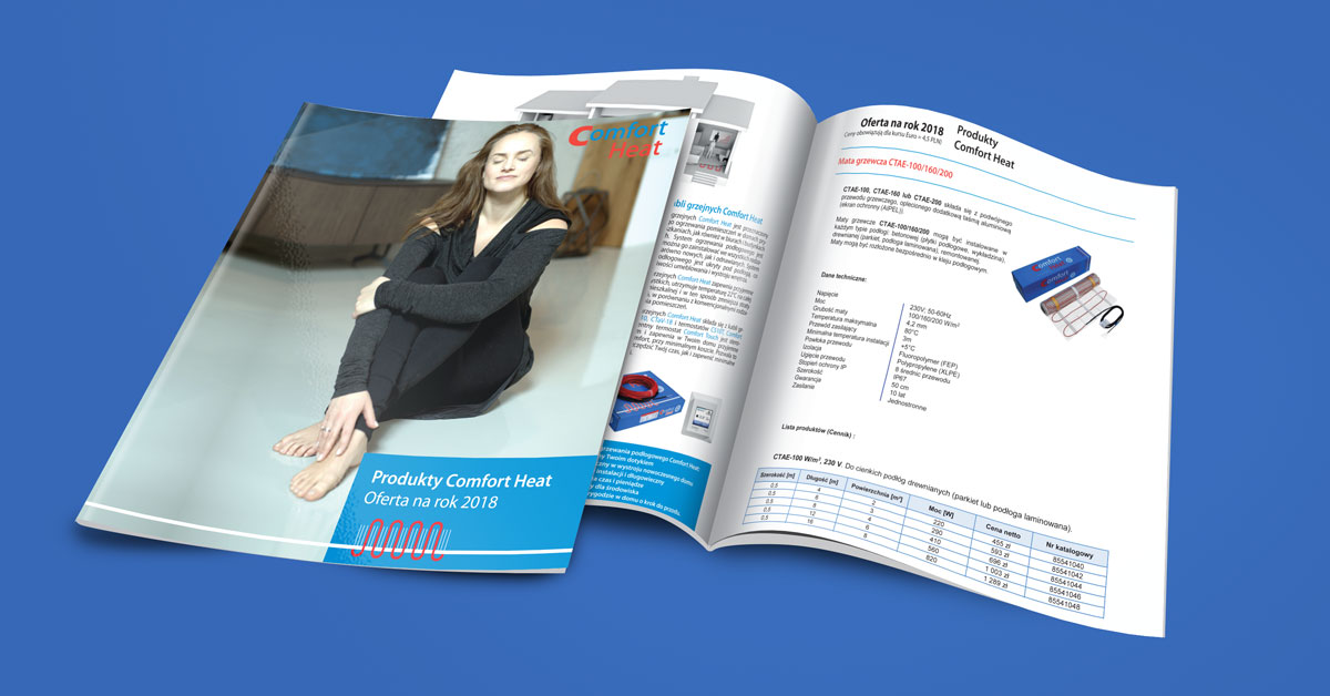 katalog comfort head 2018 - Katalog produktów Comfort Heat 2018