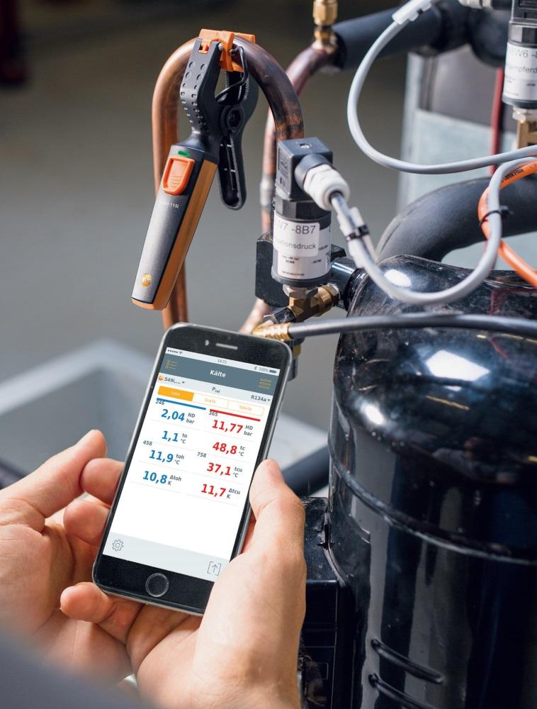 Fot. 2. Zestaw SmartSond Testo do klimatyzacji. Fot. TESTO