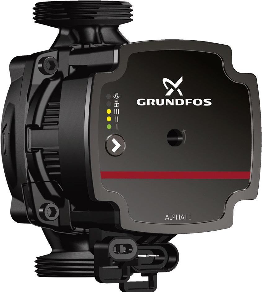 Fot. 1. Alpha1 L może być instalowana we wszelkich instalacjach grzewczych. Fot. GRUNDFOS