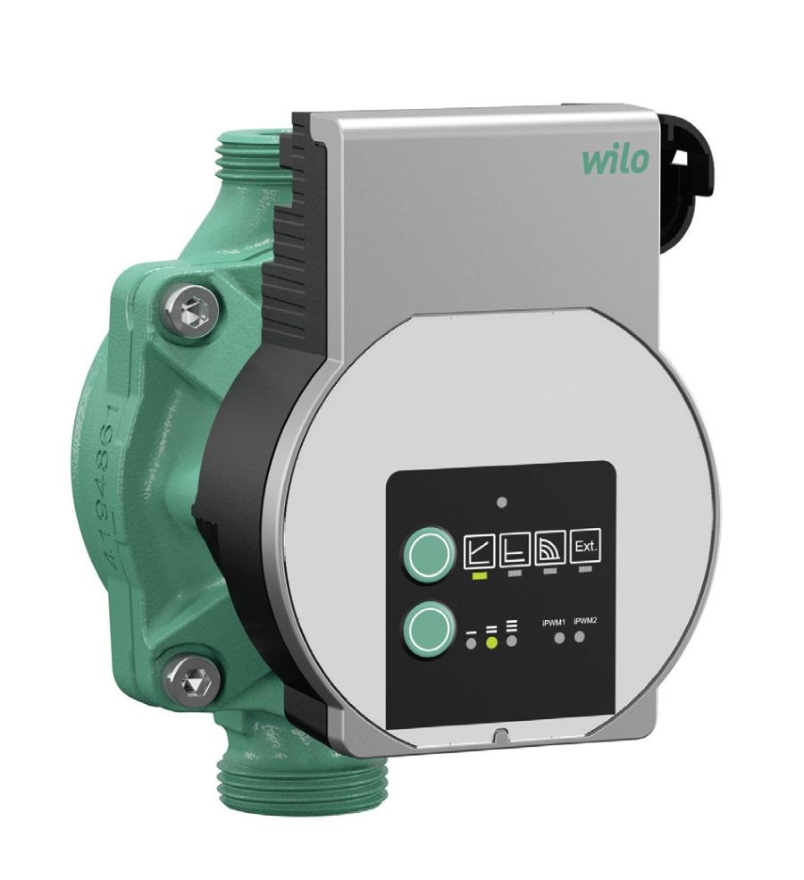 Fot. 2. Pompa bezdławnicowa Varios Pico z przyłączem gwintowanym, silnikiem EC i zintegrowaną elektroniczną regulacją wydajności. Fot. WILO