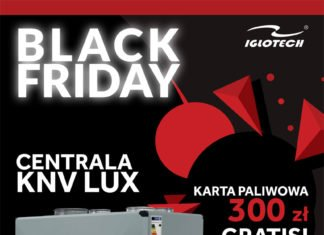 BLACK FRIDAY w IGLOTECH!