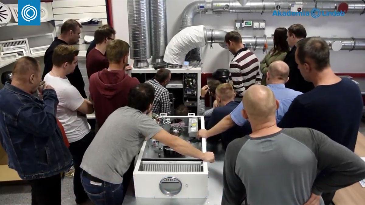 Akademia Lindab ogłasza zapisy na wiosenną edycję szkoleń dla instalatorów wentylacji i klimatyzacji