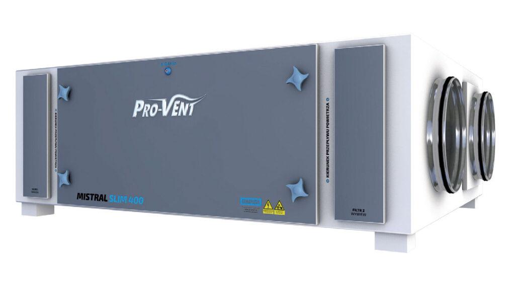 Bez nazwy 2 3 1024x559 - Inteligentny system wentylacji z rekuperatorem MISTRAL PRO firmy PRO-VENT