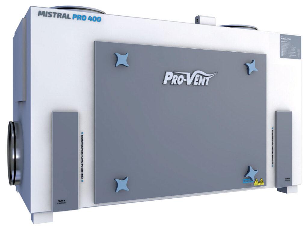 Bez nazwy 4 4 1024x762 - Inteligentny system wentylacji z rekuperatorem MISTRAL PRO firmy PRO-VENT
