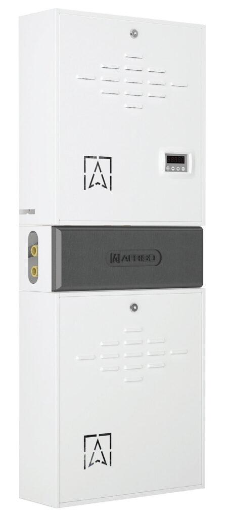 Fot. 2. Komplet hydrauliczny PrimoBox – połączone zestawy mieszający AZB i separacyjny AHB.