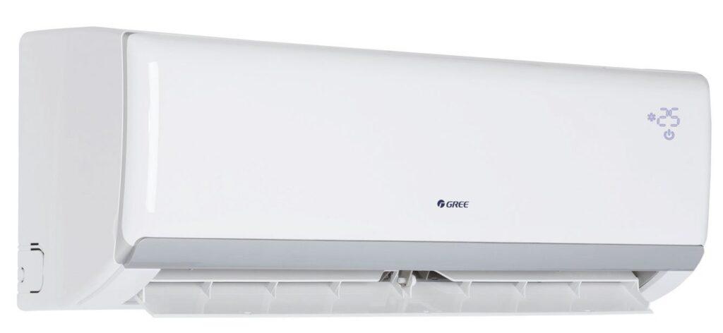 Fot. 6. Klimatyzatory typu SPLIT są wtrakcie przechodzenia na czynnik R32 który zastępuje wycofywany R410a. Fot. GREE