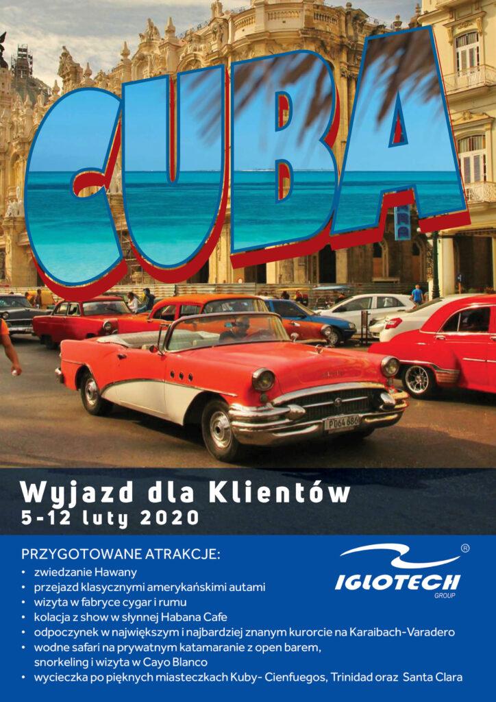 2019 Iglotech Kuba 724x1024 - Wyjazd na Kubę dla Klientów Iglotech!