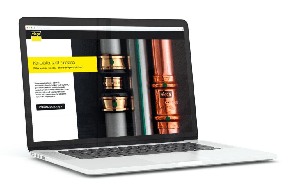 Kalkulator strat ciśnienia na stronie viega.pl - wygodne narzędzie dla projektantów i wykonawców instalacji