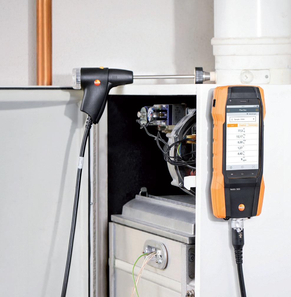 urzadzenia pomiarowe w diagnostyce kotlow grzewczych4 - Urządzenia pomiarowe w diagnostyce kotłów grzewczych