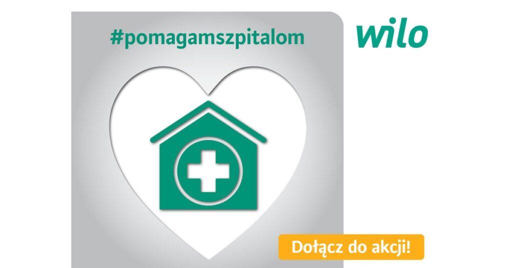 wilo pomaga szpitalom 1024x536 - Wilo Polska pomaga szpitalom