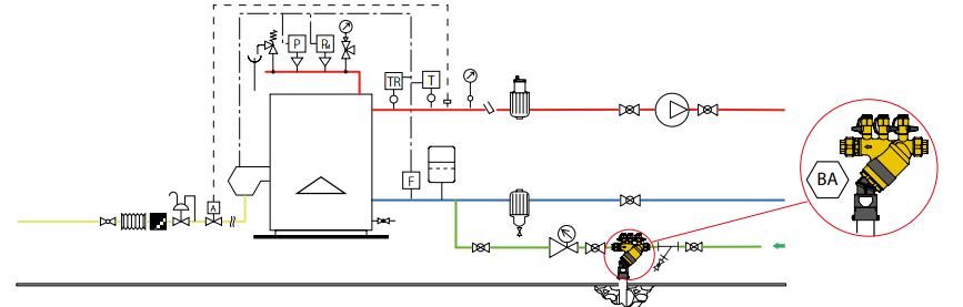 caleffi9 - Zabezpieczenie sieci wodociągowych przed przepływem zwrotnym