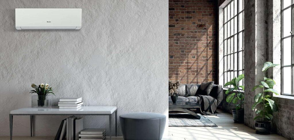 Fot. 7. Nawiew nowoczesnych klimatyzatorów może objąć całe pomieszczenie. W tym celu wykorzystuje się automatyczne żaluzje poziome i pionowe. Dzięki temu rozwiązaniu rozkład temperatury w pomieszczeniu jest jeszcze bardziej komfortowy i jednolity.