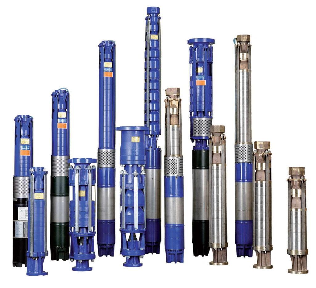 Fot. 3. Podstawowym wskaźnikiem efektywności energetycznej pomp głębinowych jest jej sprawność. Nie bez wpływu jest sposób doboru pompy do indywidualnych warunków ujęcia i zasilanej instalacji. Źle dobrana pompa nie będzie pracowała efektywnie.