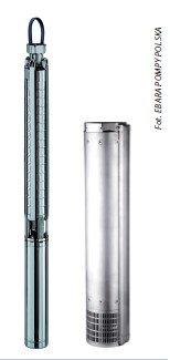 Fot. 1. Pompa głębinowa 4BHS (z lewej) i pompa głębinowa 6BHE (z prawej). Wybierając pompę głębinową warto zwrócić uwagę na rodzaj użytego do jej budowy materiału oraz warunki gwarancji udzielane przez producenta.