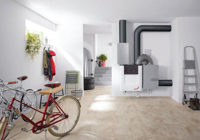 zalecenia montazowe central wentylacyjnych z odzyskiem ciepla w budynkach jednorodzinnych - Zalecenia montażowe central wentylacyjnych z odzyskiem ciepła w budynkach jednorodzinnych