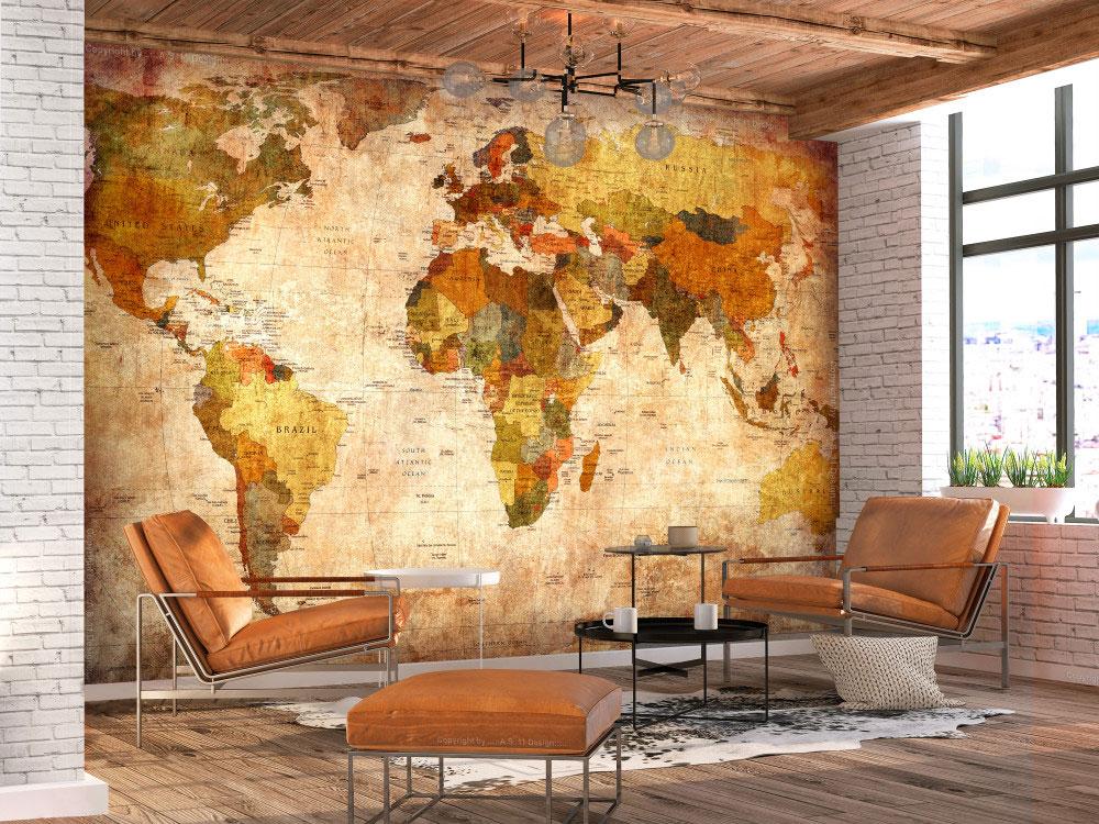 swiat w naszych rekach fototapeta mapa - Świat w naszych rękach