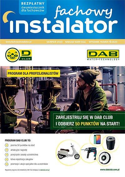 fachowy instalator 2020 4 okladka - Fachowy Instalator - ewydanie prenumerata