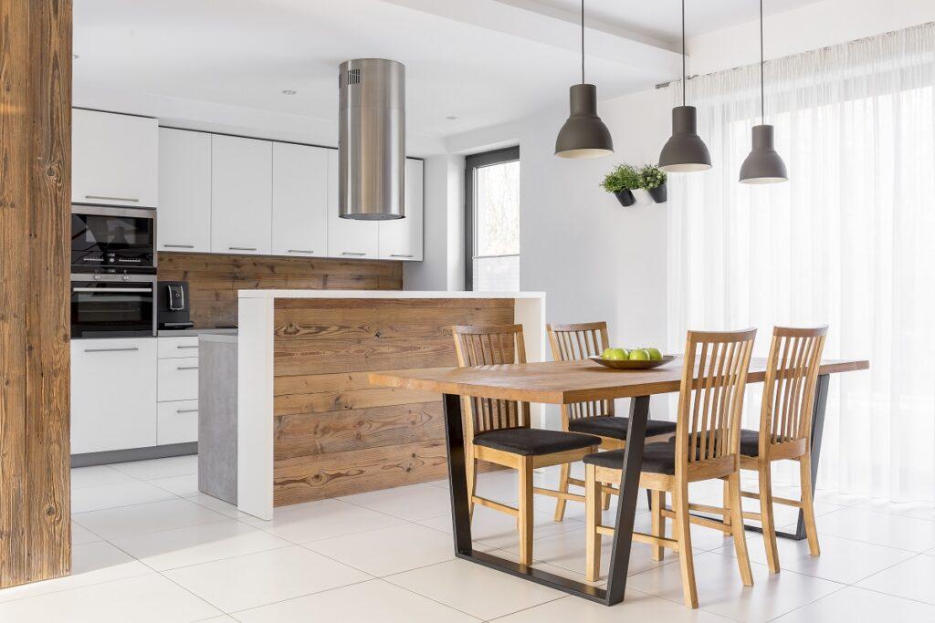 plytki scienne i podlogowe do kuchni 1024x683 - Płytki do kuchni - najpiękniejsze propozycje. Jaka podłoga do białej kuchni z drewnianym blatem?
