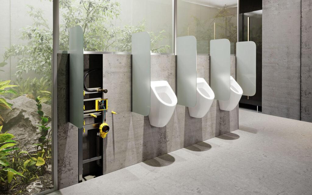 nowy wymiar higieny w toaletach bezdotykowe splukiwanie pisuarow viega1 1024x640 - Nowy wymiar higieny w toaletach - poznaj technologie Viega zapewniające bezdotykowe spłukiwanie pisuarów