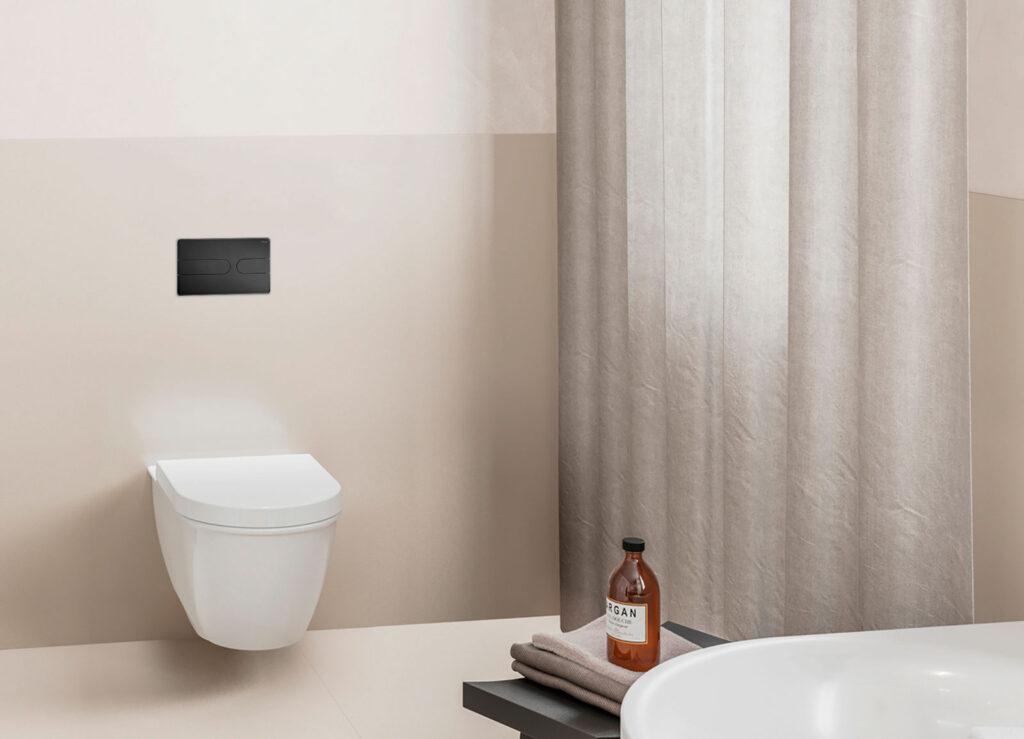 przyciski uruchamiajace do wc w stylowej matowej czerni nowa odslona serii viega visign for style2 1024x739 - Przyciski uruchamiające do WC w stylowej matowej czerni - nowa odsłona serii Viega Visign for Style